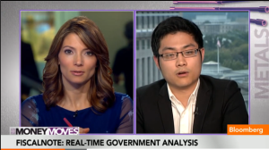 "FiscalNote CEO Tim Hwang discusses the company's real-time government analysis and expansion plans with Deirdre Bolton on Bloomberg Television's ""Money Moves."""