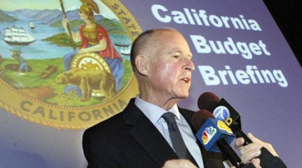 Governor Brown:  Photo credit: newamericamedia.org