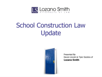 Lozano School Construction update