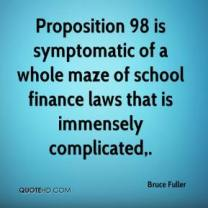 Quote attributed to Bruce Fuller, UC Berkeley