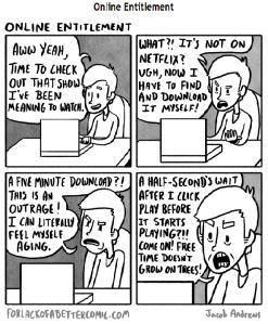 online entitlement